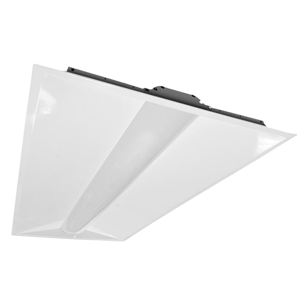 NICOR 2x4 T3A Architectural LED Troffer in 5000K