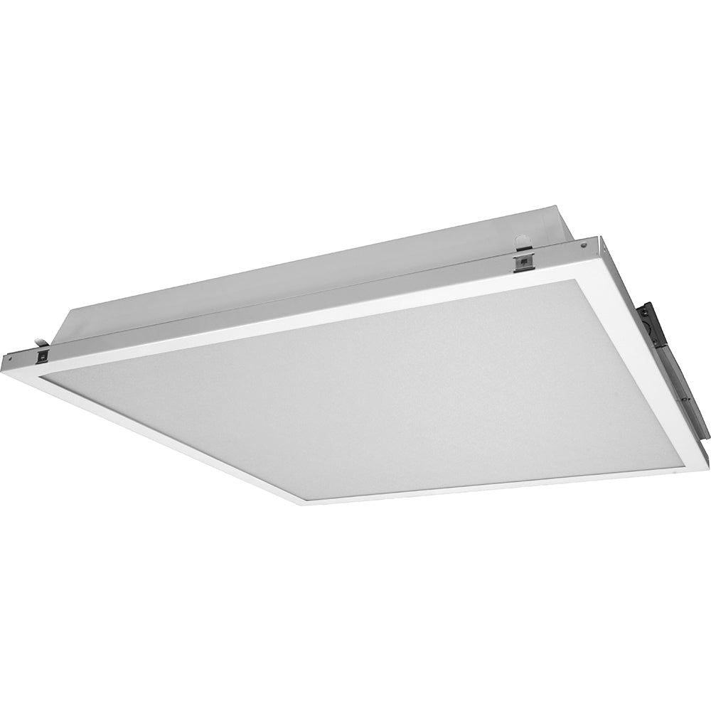 NICOR 2x2 Contractor Friendly LED Troffer in 4000K with Emergency Backup