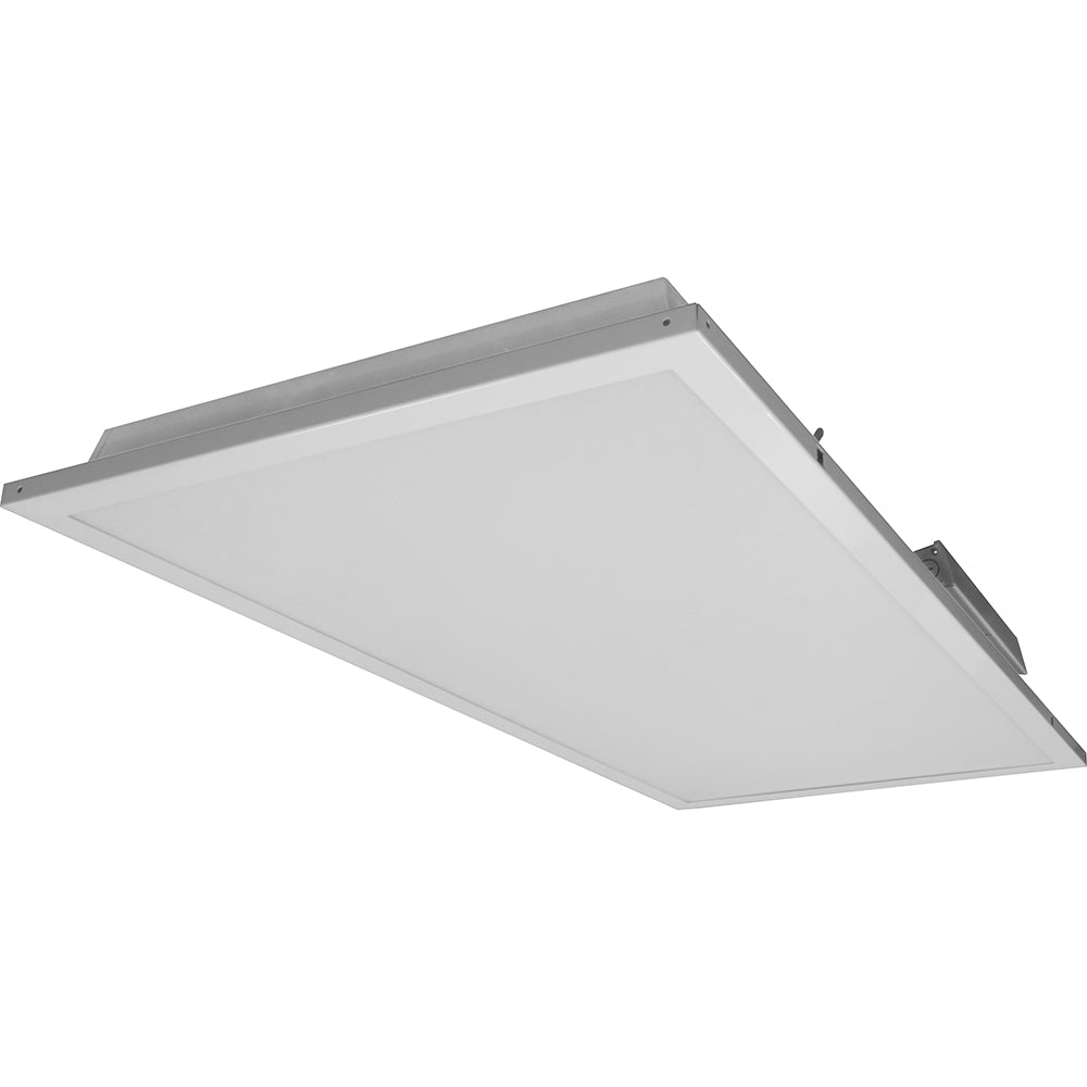 NICOR 2x4 Contractor Friendly LED Troffer in 5000K with Emergency Backup