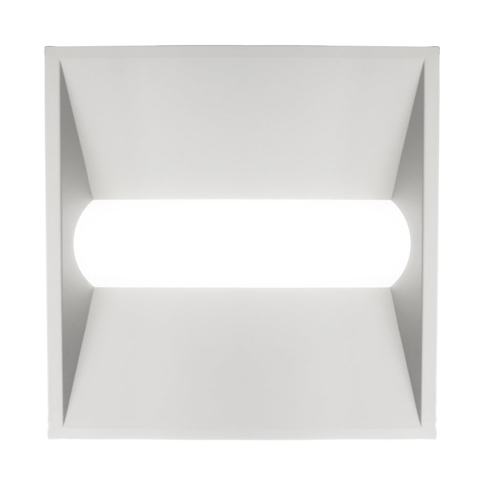 NICOR 2x2 Ft. LED Retrofit Ceiling Troffer Kit w/ Precision Engineered Diffuser