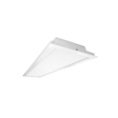 NICOR 1x4 ft. LED Multi-Volt Lay-In Ceiling Troffer in White, 3500K