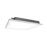 NICOR 2x2 ft. LED Troffer with Textured Diffuser in 4000K