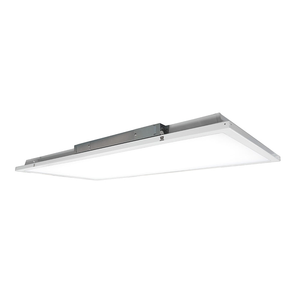 NICOR 2x4 ft. LED Troffer with Textured Diffuser in 5000K