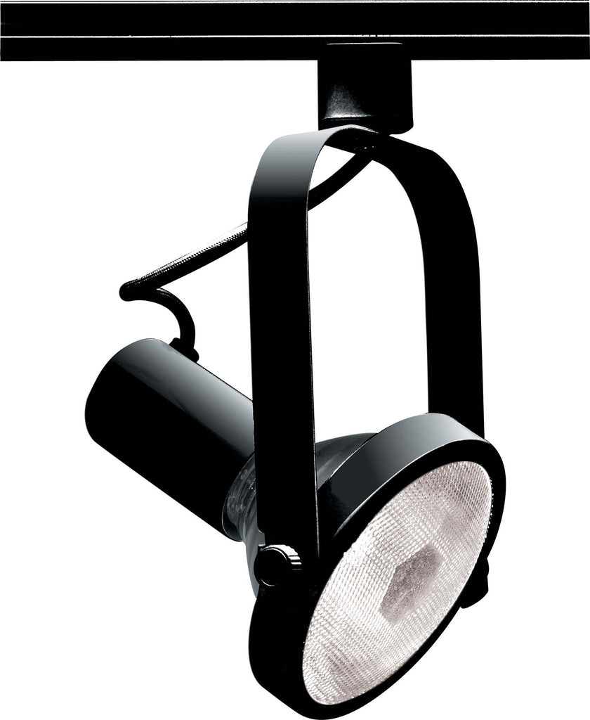 Nuvo TH225 Black 1 Light - PAR38 - Track Head - Gimbal Ring
