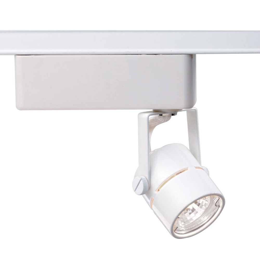 Nuvo TH234 White 1 Light - MR16 - 12V Track Head - Round