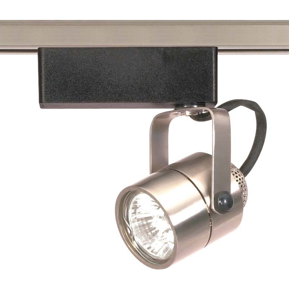 Nuvo TH309 Brushed Nickel 1 Light - MR16 - 12V Track Head - Round