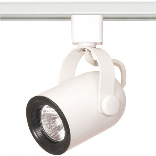 Nuvo TH315 White 1 Light - MR16 - 120V Track Head - Round Back
