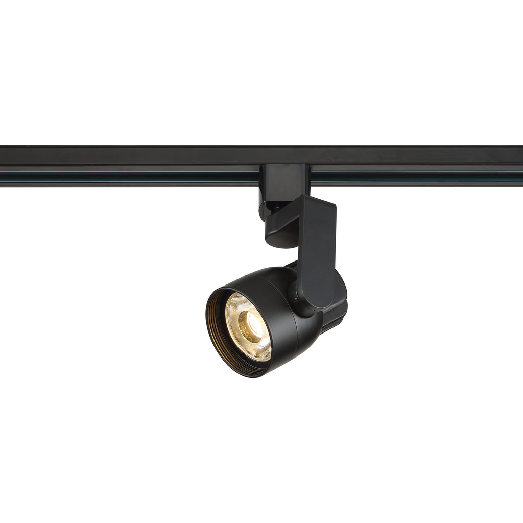 Satco TH424 12 Watt LED Track Head Black Finish 36 Degree Beam Angle