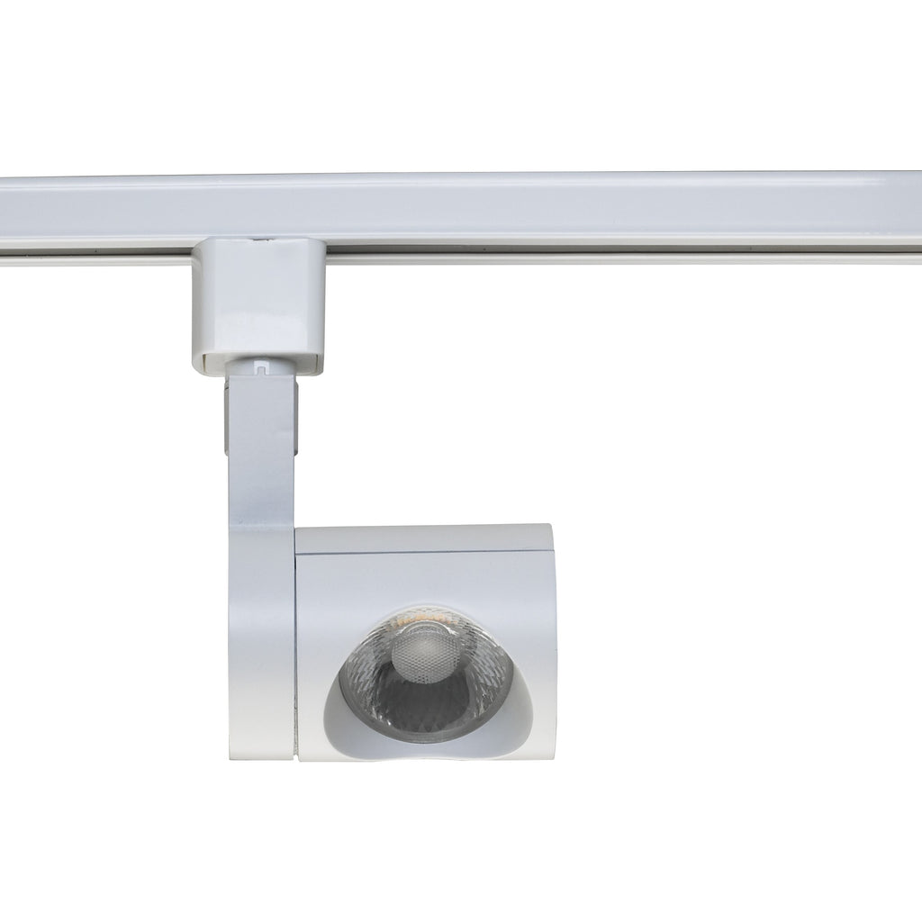 12W 1 Light LED Track Head Pipe White 24 Deg. Beam