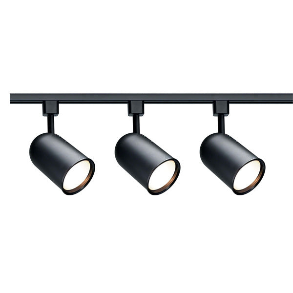 Nuvo TK323 Black 3 Light - R30 - Bullet Cylinder Track Kit