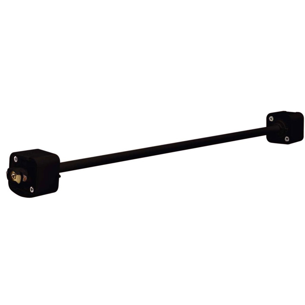 Satco TP166 Black 48 inch Extension Wand Track Lighting Track Standoff Rod