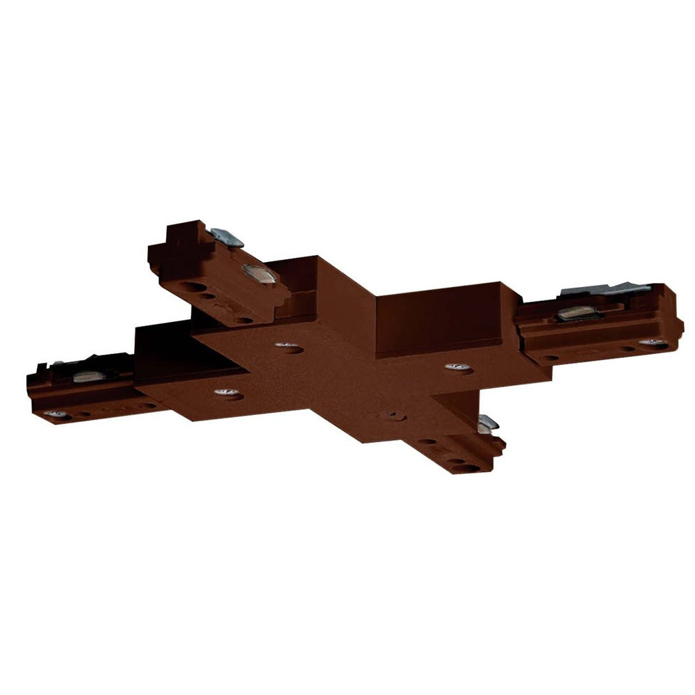 "Satco TP206 Brown ""X"" Connector"