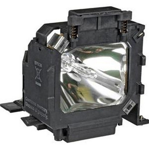 Epson EMP-600 Projector Housing with Genuine Original OEM Bulb