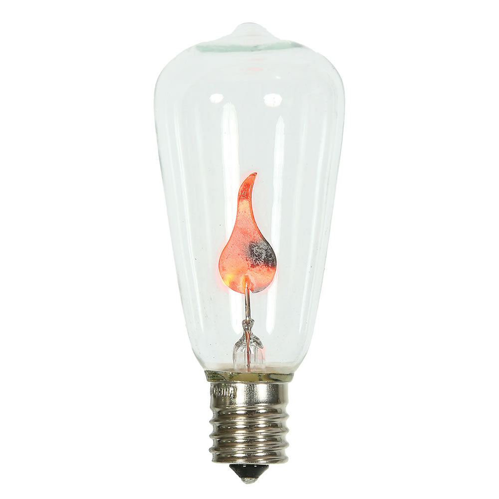 Vickerman ST40 Clear Flicker Flame E17 Bulb