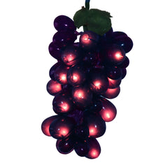 100 Lights 5 Purple Grape Cluster Christmas Set