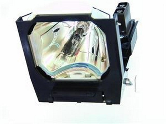 Mitsubishi X120E Projector Housing with Genuine Original OEM Bulb