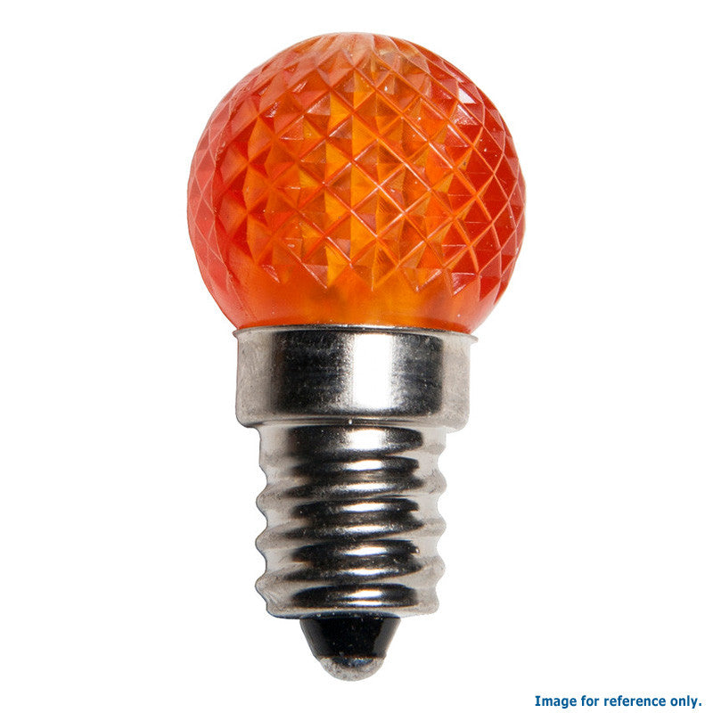 G20 LED Christmas Lamp Amber Light - 25 Bulbs