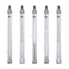 12 Inch Grand Cascade LED Tubes Cool White Light - 5 Bulbs