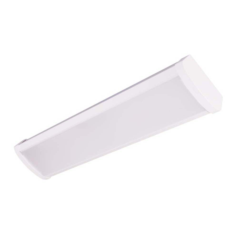 WPC Series 2-Foot LED Linear Wraparound Light Fixture, 4000K