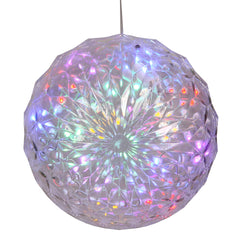 "30Lt X 6"" LED Multi Crystal Ball Outdoor"