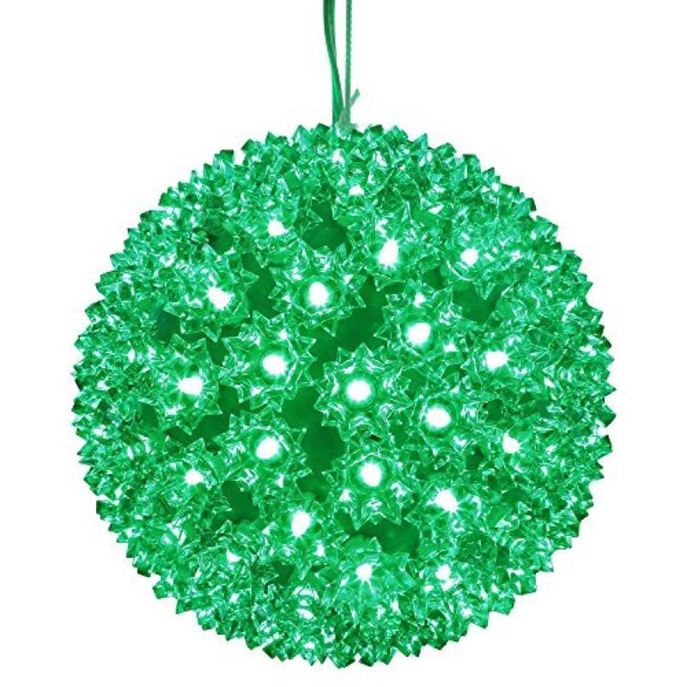 "Vickerman 150Lt x 10"" LED Green Starlight Sphere"