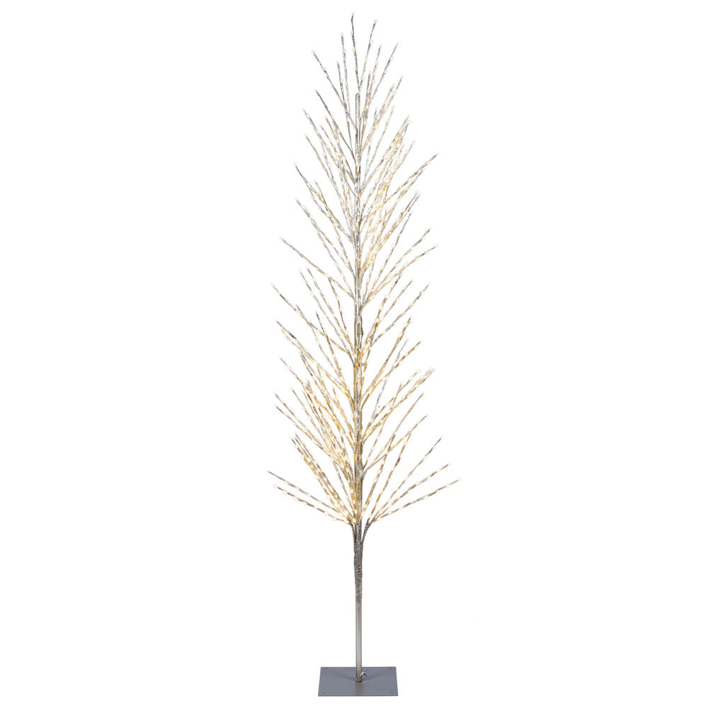 Vickerman 6 ft. Champagne Tree LED 560 Warm White Flat Base