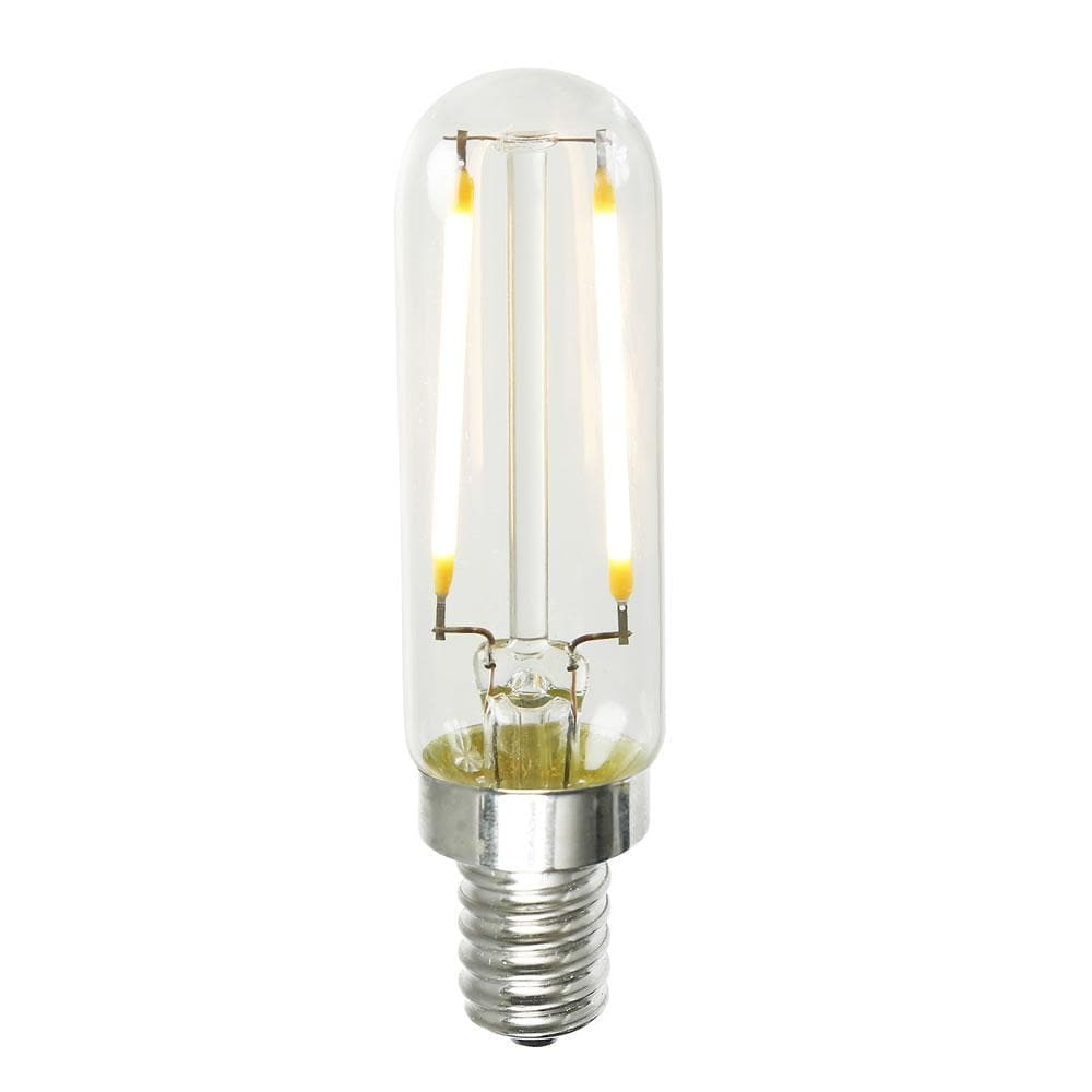 1.6w T6 LED Dimmable Warm White 2200K E12 base Bulb