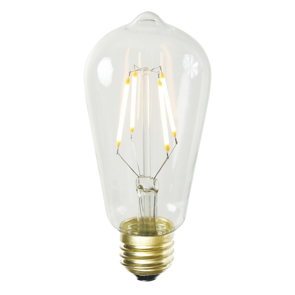3.2W ST58 LED Dimmable Warm White 2200K E26 base Bulb