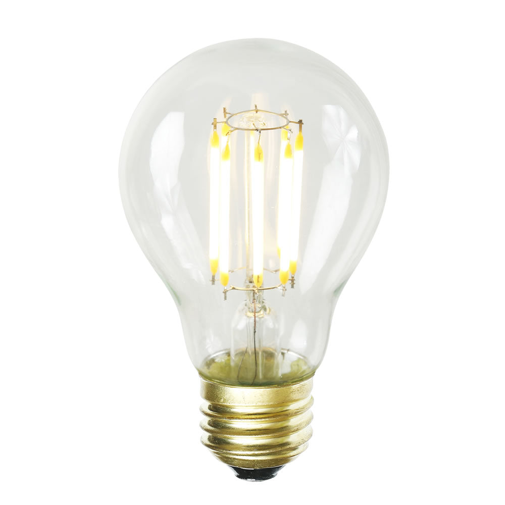 7W A19 LED Dimmable Warm White 2700K E26 base Bulb