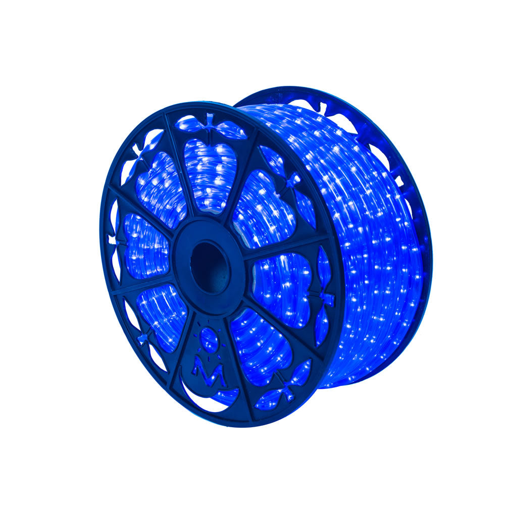 Vickerman 150 ft. x .5 in. Blue LED Rope Light 120V