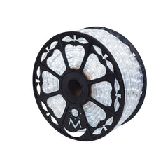 Vickerman 150 ft. x .5 in. Cool White LED Rope Light 120V