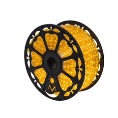 Vickerman 150 ft. x .5 in. Yellow LED Rope Light 120V