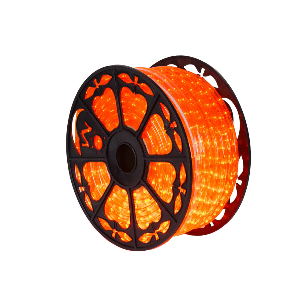 Vickerman 150 ft. x .5 in. Orange LED Rope Light 120V