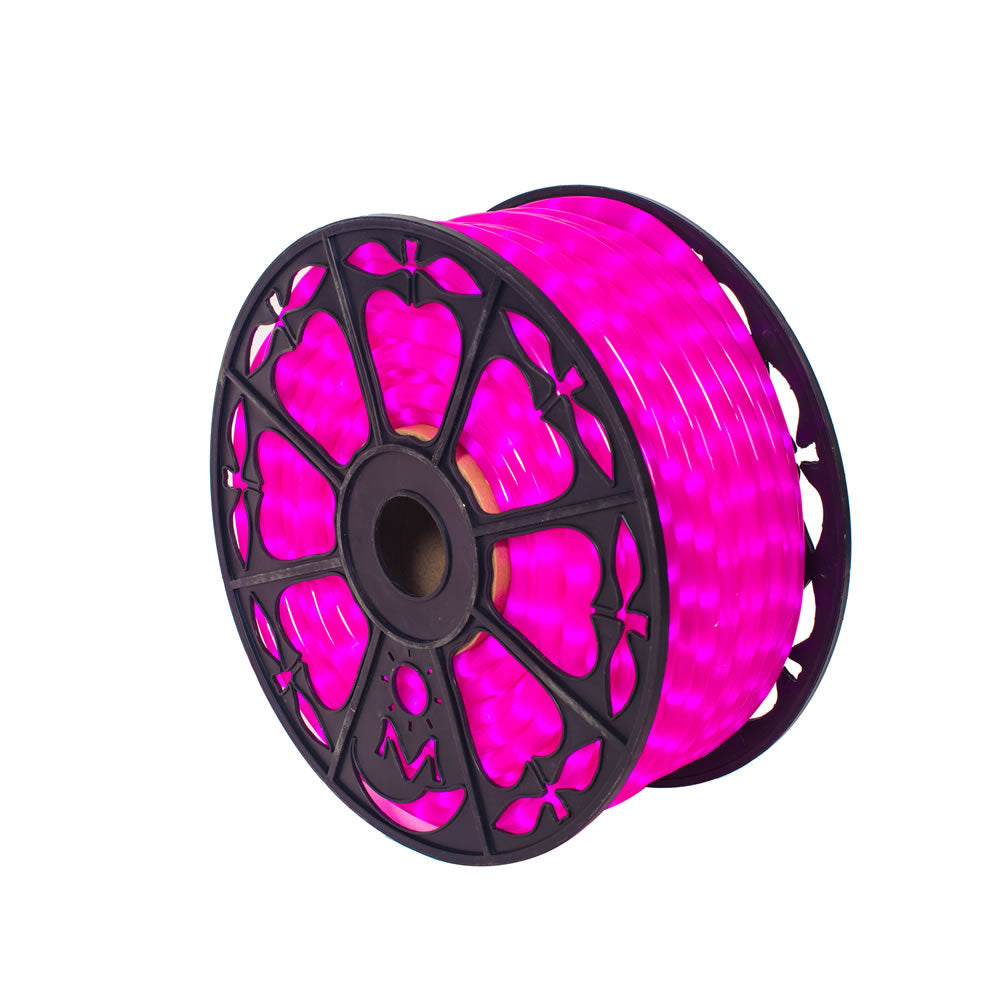 Vickerman 150 ft. x .5 in. Fluorescent Pink LED Rope Lt