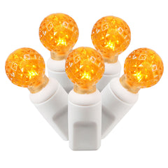 Vickerman 50Lt LED Orange/WW G12 EC Set 25 ft.L