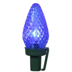 Vickerman 25Lt LED C7 Blue Refl Ec Set GW 8 in.Sp 16 ft.