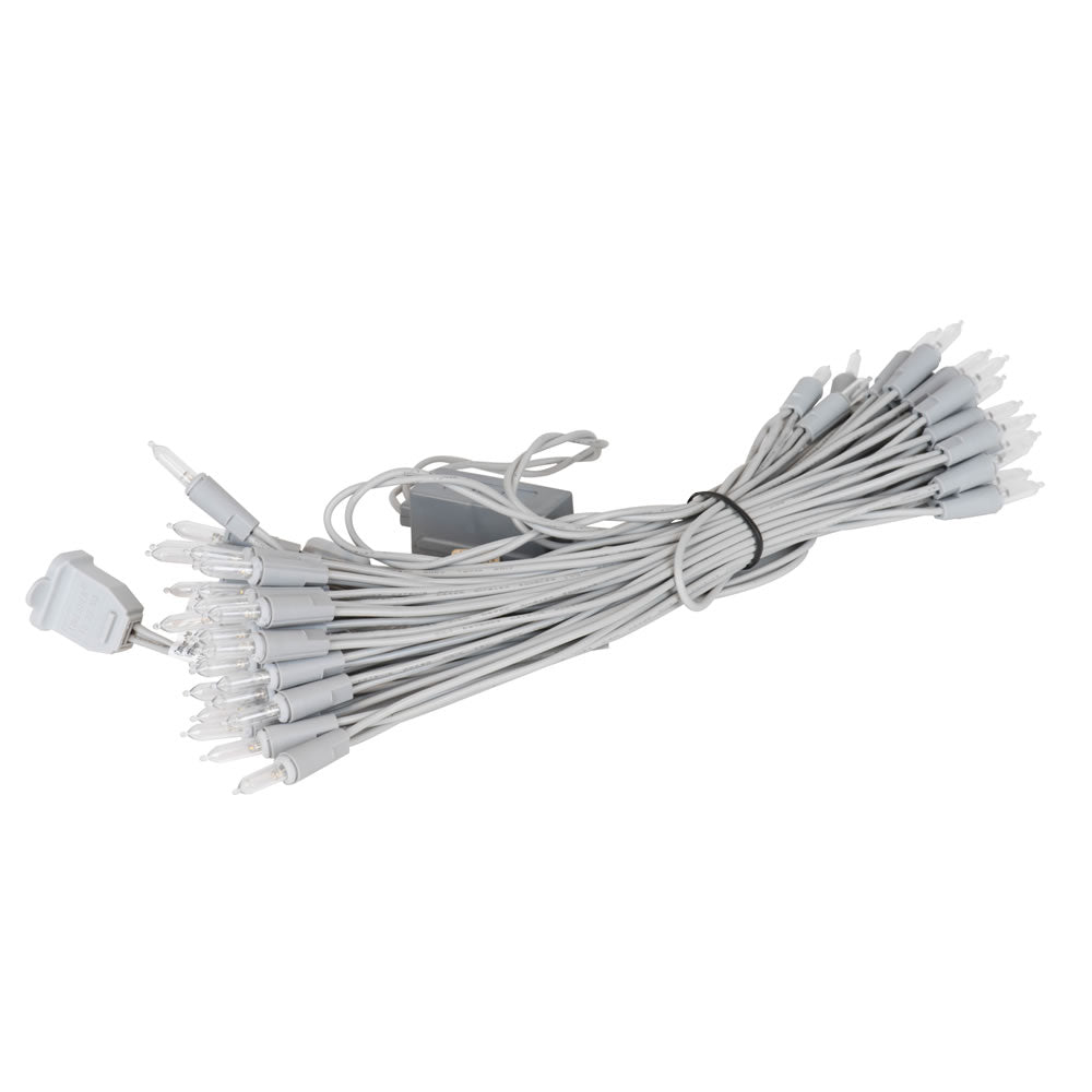 Vickerman 50Lt Warm White Dura-Lit/SLw Ec Set 9 in. Sp