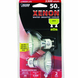 Feit Electric Xenon 50w GU10 MR16 120-Volt Bulb, 2 Pack - BulbAmerica