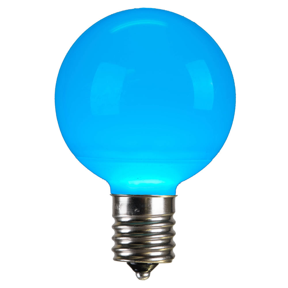 Vickerman G50 Teal Ceramic LED Bulb E17 .96W