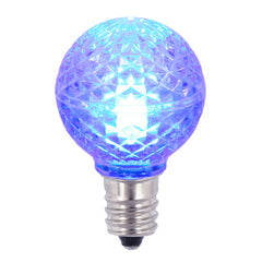 25PK - Vickerman Blue Faceted G30 LED Replacement Bulb
