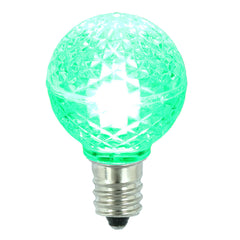 25PK - Vickerman Green Faceted G30 LED Replacement Bulb