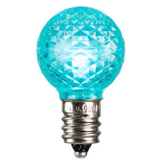 Vickerman G30 Faceted LED Teal Bulb E12 .38W
