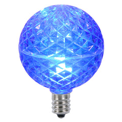 Vickerman G50 Faceted LED Blue Bulb E12 .38W