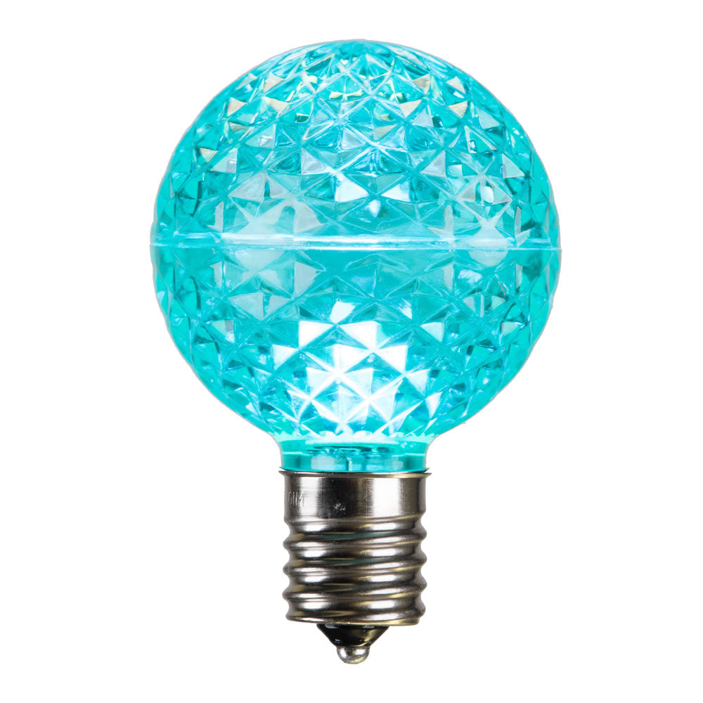 Vickerman G50 Faceted LED Teal Bulb E17 .45W