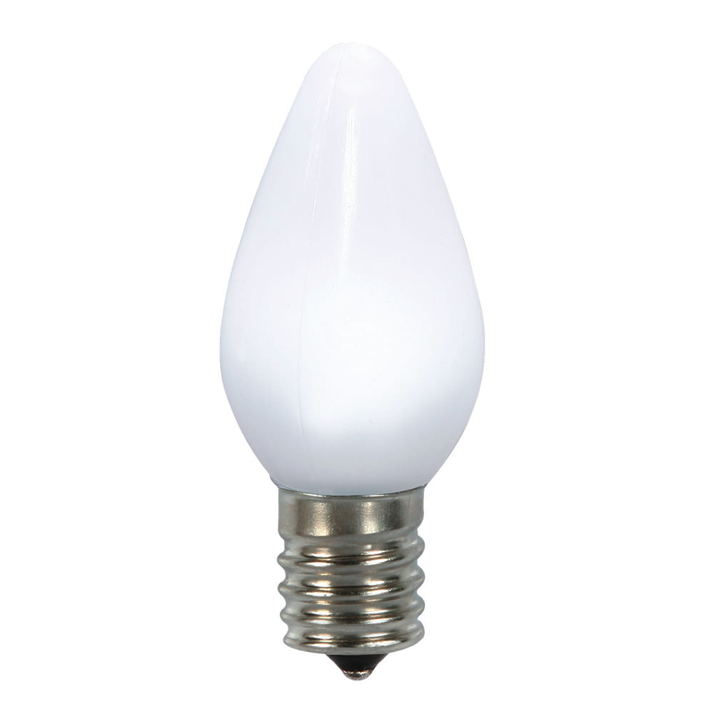 25PK - Vickerman C7 Ceramic LED Pure White Bulb 0.96W 130V