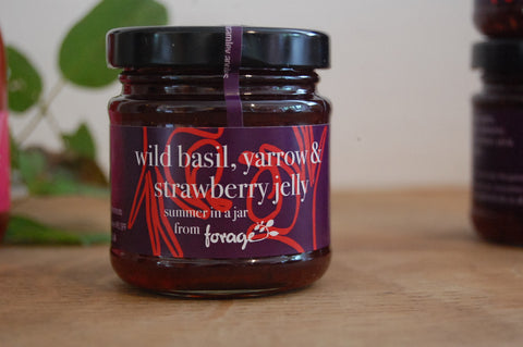 Yarrow, Wild Basil & Strawberry Jelly