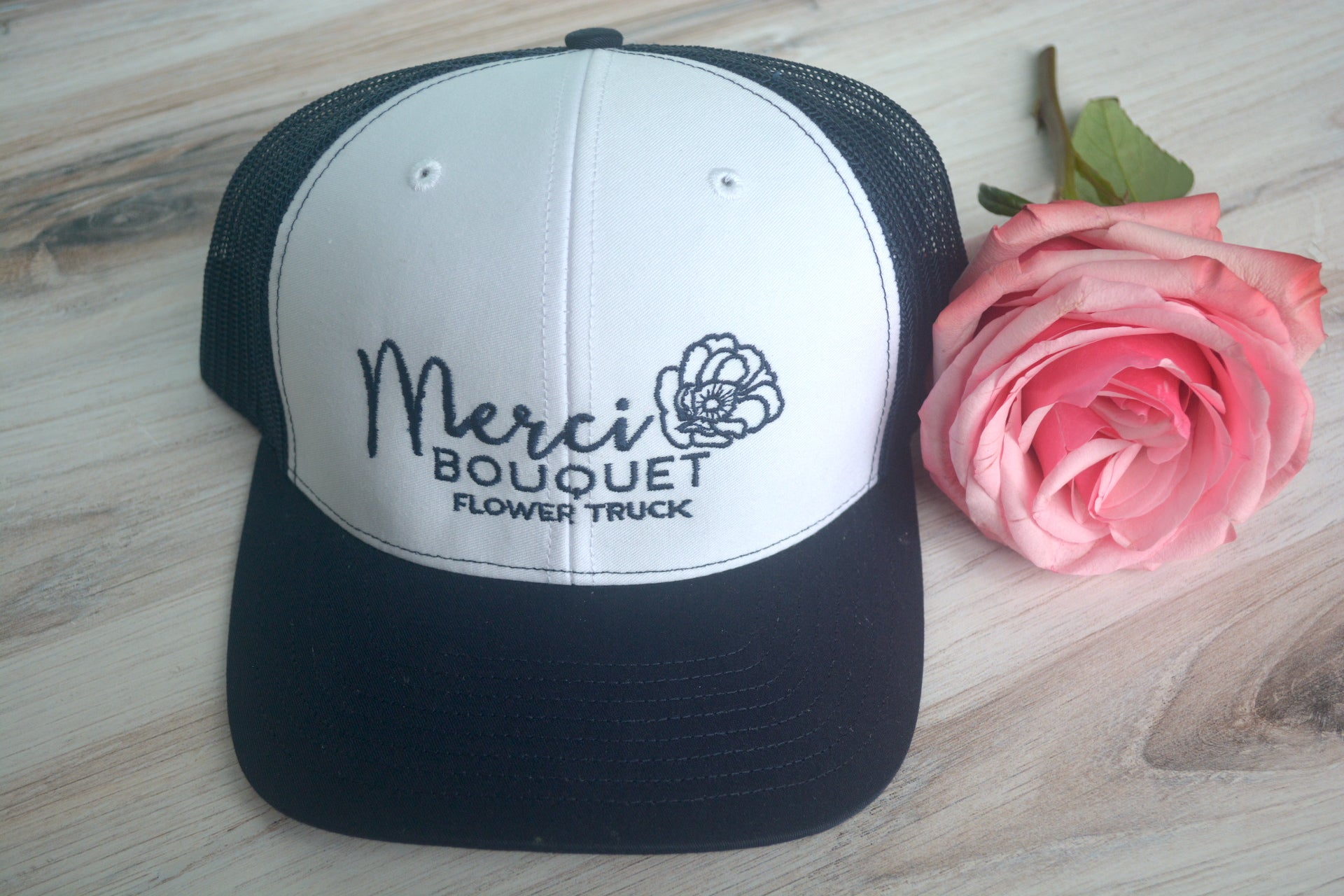 Merci Bouquet Hat