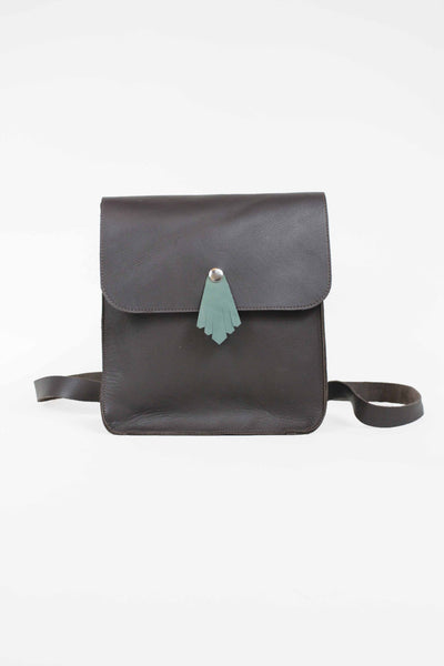 Backpack brown mint miniming