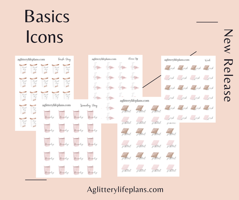 The Basics Functional Icons