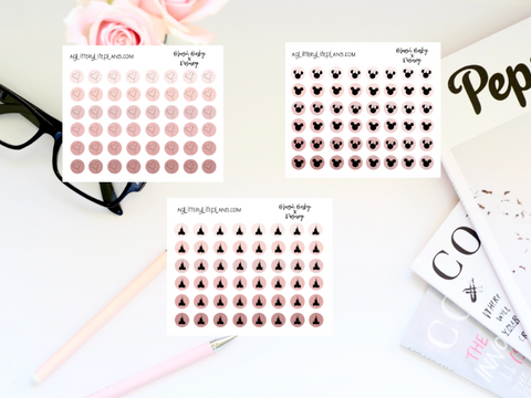 Blush Baby x Disney Transparent Dots Bundle